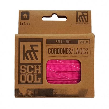 Cordones KRF Fucsia 230cm