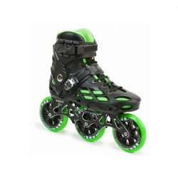 Patin AMAYA XTREM BLACK/GREEN (4X90 & 3X110)