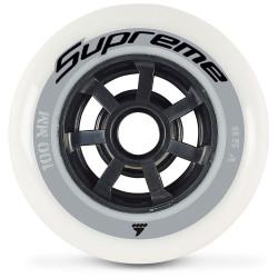 RUEDAS SUPREME 100/85A (6PCS) Color White