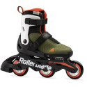 PATINES MICROBLADE FREE Color Military Green/orange